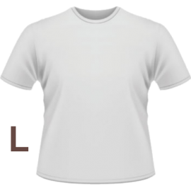 T-Shirt personalizzabile Large