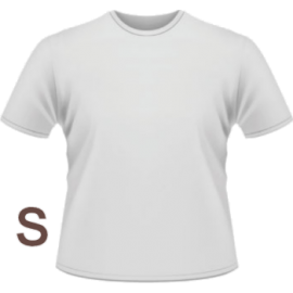 T-Shirt personalizzabile Small